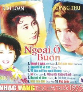 Ngoại ô buồn – Kim Loan_Giáng Thu_pre 1975