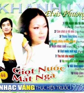 Giọt nước mắt ngà – Khánh ly_ Elvis Phương- trước 1975