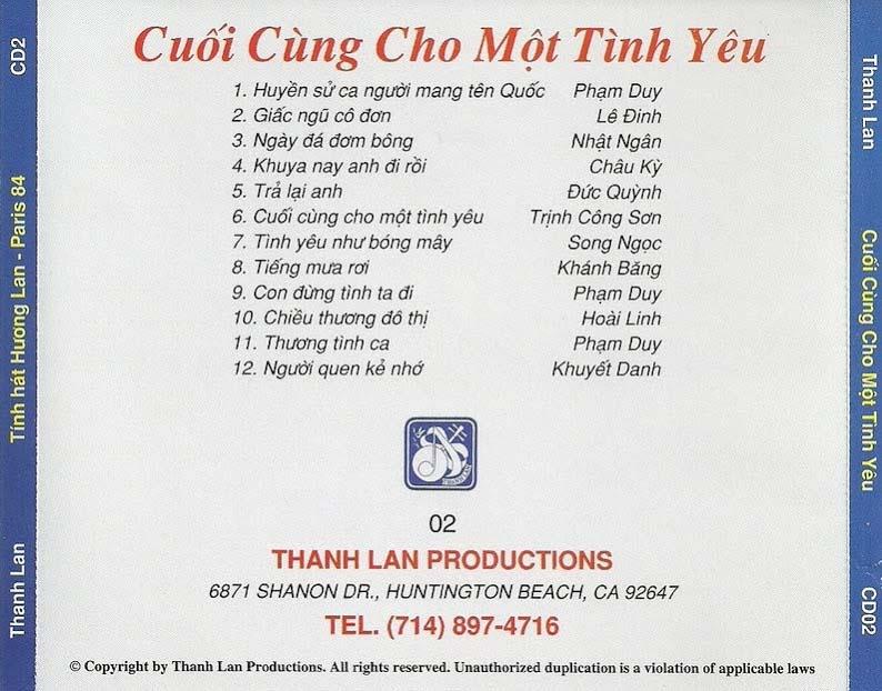 Cuoi Cung Cho Mot Tinh Yeu